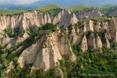 The pyramids of Melnik (Bulgaria)