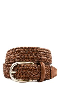 JMcLaughlin.com | JMcLaughlin.com - Men's Accessories - Woven Leather Belt