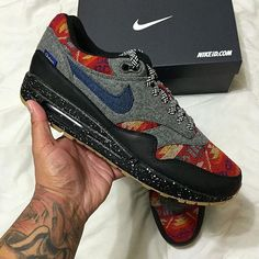 size 40 2ce3e 068a6 Nike Air Max 1 x pendleton x denim x crazydesign