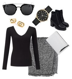 """""""Is it California:30 yet?"""" by ares-and-aphrodite on Polyvore featuring Zara, Miss Selfridge, Marc Jacobs and Oliveve"""