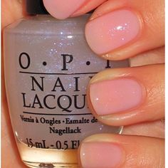 OPI In The Spot Light Pink With I JuggleMen They Have Some Really Weird Nail Polish Names Still Love This Color