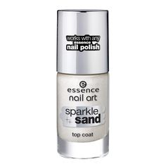 Essence Nail Art Sparkle Sand Top Coat 24 I feel gritty