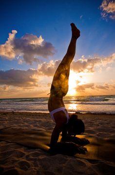 """Yoga doesn't take time, it gives time."" -Ganga White"