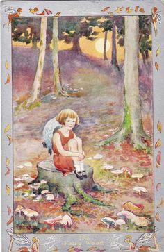 Hester Margetson - English- (1890-1963) postcard