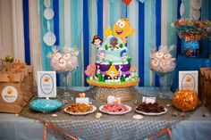 bubble guppies birthday party food ideas