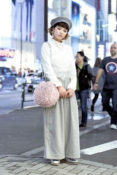 Tokyo fashion week - street style - Spring 2016