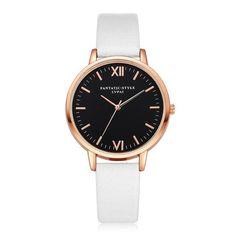 2016 Rose Gold Lvpai Brand Leather Watch Luxury Classic Wrist Watch Fashion Casual Quartz Wristwatch High Quality Women Watches