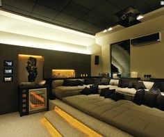 Coolest Theater Room Yet