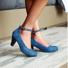 Women Summer Pumps High Heels Office Ladies Shoes Round Toe PU Leather Footwear - Occasion: Dress, Party, Club, Wedding, Office, Work, School, Casual. #heelsclassy #heelsclassyelegant #heelsclassyelegantoutfit #elegantjeansoutfitclassyheels #heelsaesthetic #heelsaestheticclassy #heelsoutfits #heelsoutfitsblackgirl #heelsoutfitsblackgirlshoes #heelsoutfitscasual #heelsoutfitsclassy #heelsoutfitssummer #icuteshoes High Heels Outfit, Dress And Heels, Shoes Heels, Zapatos Mary Jane, Mary Jane Heels, Spike Heels, Office Ladies, High Heel Pumps, Womens High Heels