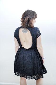 Petite robe Noa de la collection civile et cocktail de Stéphanie Wolff et  soutien-gorge Back to glam  stephaniewolffparis  …  237d4e29509