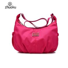 Women Messenger Bag Hobos Nylon Bag 2017 Women Crossbody Bag Brand designer Shoulder Cross body Bag sac a main L200