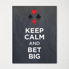 Keep Calm and Bet Big. Découvrez tous les casinos du monde et leurs meilleures offres sur www.casinosavenue.com
