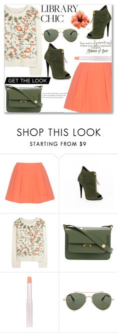 """""""Grow glowers of love"""" by sindhuja-coolgirl ❤ liked on Polyvore featuring Alice + Olivia, Marni and Givenchy"""