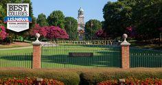 Samford University > Birmingham, Alabama