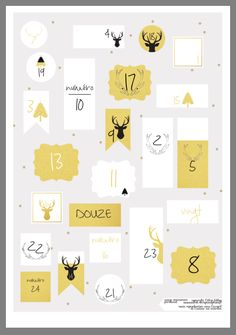 Advent Calenders, Diy Advent Calendar, Countdown Calendar, Christmas Calendar, Diy Christmas Tree, First Christmas, Christmas Time, Xmas, Diy Weihnachten