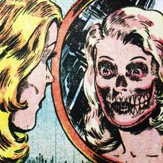 Ethereal Learn To Draw Comics Ideas. Fantastic Learn To Draw Comics Ideas. Arte Horror, Horror Art, Vintage Comics, Vintage Art, Comic Books Art, Comic Art, Retro Pop, Horror Comics, Vintage Horror