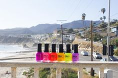 For the ultimate top-down scenic drive, head to the ribbon of highway that hugs L.A.'s breathtaking coastline. PCH meanders through the seaside cliffs and tiny beach towns that pop up every few miles along the Pacific Coast Highway. Introducing ORLY's 2016 Summer Collection: PCH.