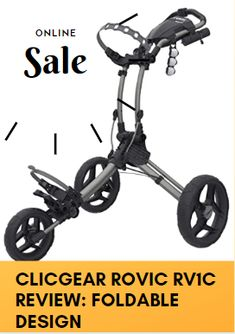 In case you are watching for a lightweight and thick golf push cart. After that, allow us to bring to your care the Clicgear RV1C golf cart via Clicgear. You guys can gain some knowledge about that cart by this Clicgear Rovic RV1C Review. Golf Push Cart, Golf Carts, Looking To Buy, Online Sales, Gain, Knowledge, Design, Facts