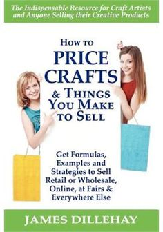 How to Price Crafts and Things You Make to Sell - Here's my review of this craft pricing book. http://www.craftprofessional.com/how-to-price-crafts.html