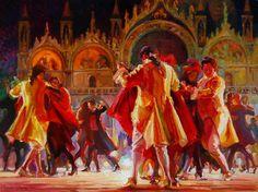 "Evgeny & Lydia Baranov - ""Tango Sensation in the Piazza"""