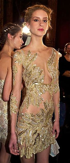 Zuhair Murad - Model a titch too skinny, but the dress is BEAUTIFUL! jaglady