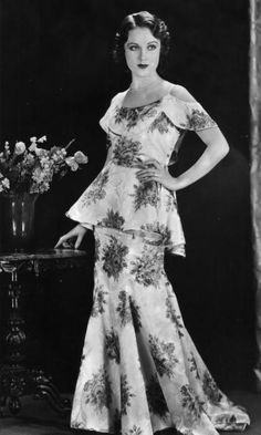 Promotional still of Canadian born actor Fay Wray c1935