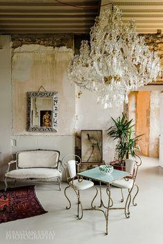 https://flic.kr/p/i4X3Q1 | Chateau - Interior Detail | Bourgogne, France  ambient light, single exposure  www.sebastianerras.com