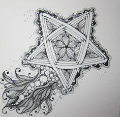 zentangle star