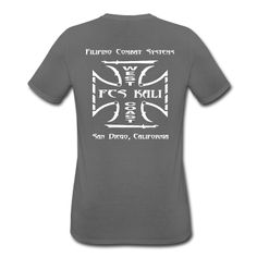 This is the new Official FCS Kali West Coast San Diego Men's Performance T-Shirt