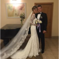 Victoria's Secret Angel Kate Grigorieva Lives Up to Her Professional Title in Heavenly Wedding Photos. #celebrityweddings