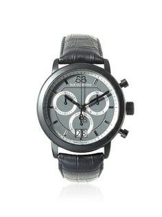 38% OFF 88 Rue du Rhone Men's 87WA130021 Black/Dark Grey Stainless Steel Watch