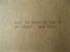 So much of you in my heart http://feelingandloving.tumblr.com