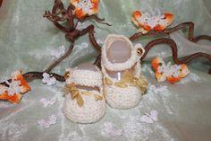 Ballerina ´s für Babys von Die Sandfrau auf DaWanda.com