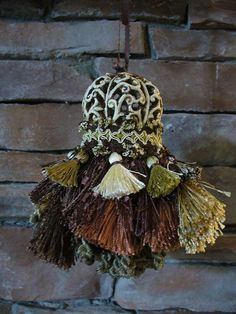 This lady makes the prettiest tassels