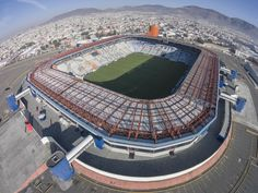 Soccer Stadium, Football Stadiums, Football Mexicano, American Football, Airplane View, Around The Worlds, Saints, Scenery, Architecture