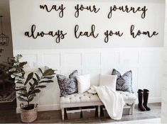 May Your Journey Always Lead You Home Farmhouse Decor Cutout Wood Sign Entryway Sign Farmhouse sign Quote sign Entryway Decor Ideas Cutout decor Entryway farmhouse Home Journey LEAD Quote Sign Wood Farmhouse Side Table, Farmhouse Style Kitchen, Modern Farmhouse Decor, Rustic Farmhouse, Urban Farmhouse, Farmhouse Interior, Modern Decor, Living Room Designs, Living Room Decor