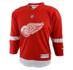c8d644f6 Product 654-446 / Price $69.99 , Detroit Red Wings Child Premier Replica  Home Jersey