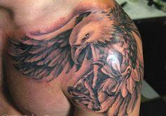 tattoo ink: Eagle tattoo