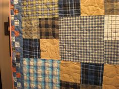 Custom Memory Quilts - Memory Quilts from Clothing