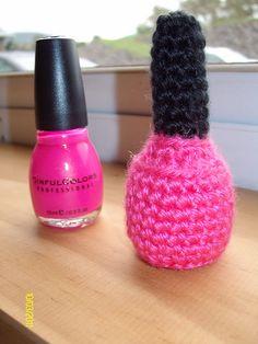 Ravelry: Nail Polish Amigurumi pattern by Deena White