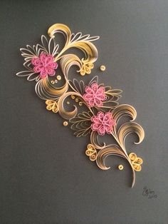 Peper Quiling art