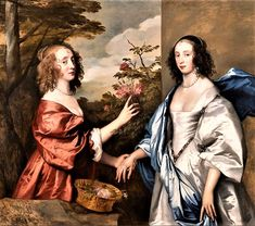 It's About Time:The Cheeke Sisters by Anthony van Dyck (1599-1641)