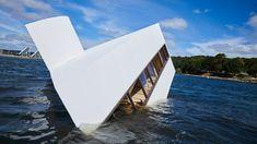 Flooded Modernity by Asmund Havsteen-Mikkelsen Le Corbusier, Villas, Villa Savoye, Vejle, Modern Architects, Famous Buildings, Social Housing, Fjord, Brutalist