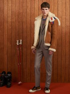 Band of Outsiders Fall 2018 Menswear Fashion Show Collection