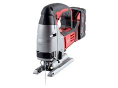 Milwaukee 2645-20 Price: $130 (tool only) Voltage: 18 Battery: Li-ion, 3 amp hours Chuck:  Two-hand insert, one-hand release Weight: 7.8 lb  ¾-in. plywood; linear feet ripped: 101