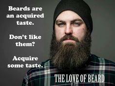 Acquire some taste.
