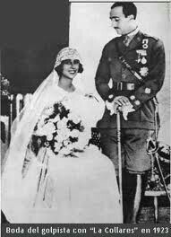 Francisco Franco su esposa Carmen Polo Royal Brides, Royal Weddings, Killed In Action, Good Old Times, Color Pictures, German Army, Second World, Wwii, Wedding Gowns