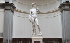 - Tickets starting at $29 - Michelangelo's David  weighs 12,478 pounds, the weight of 800 adult males. In 1873 the statue of David was removed from the piazza, to protect it from damage, and displayed in the Accademia Gallery. http://selectitaly.com/browse/things-to-do/museum/id:24/accademia-gallery-tickets-florence?utm_medium=social&utm_source=pinterest.com&utm_campaign=201407+museums