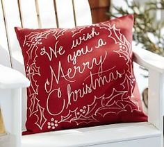 Outdoor Chair Cushions & Outdoor Patio Cushions | Pottery Barn We Wish You A Merry Christmas