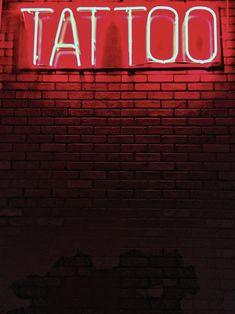 red Tattoo neon light signage photo – Free Wall Image on Unsplash Neon Tattoo, Tattoo Expo, Light Tattoo, Floral Back Tattoos, Tattoo Signs, Wall Tattoo, Red Tattoos, Back Tattoo Women, Tattoo Designs And Meanings